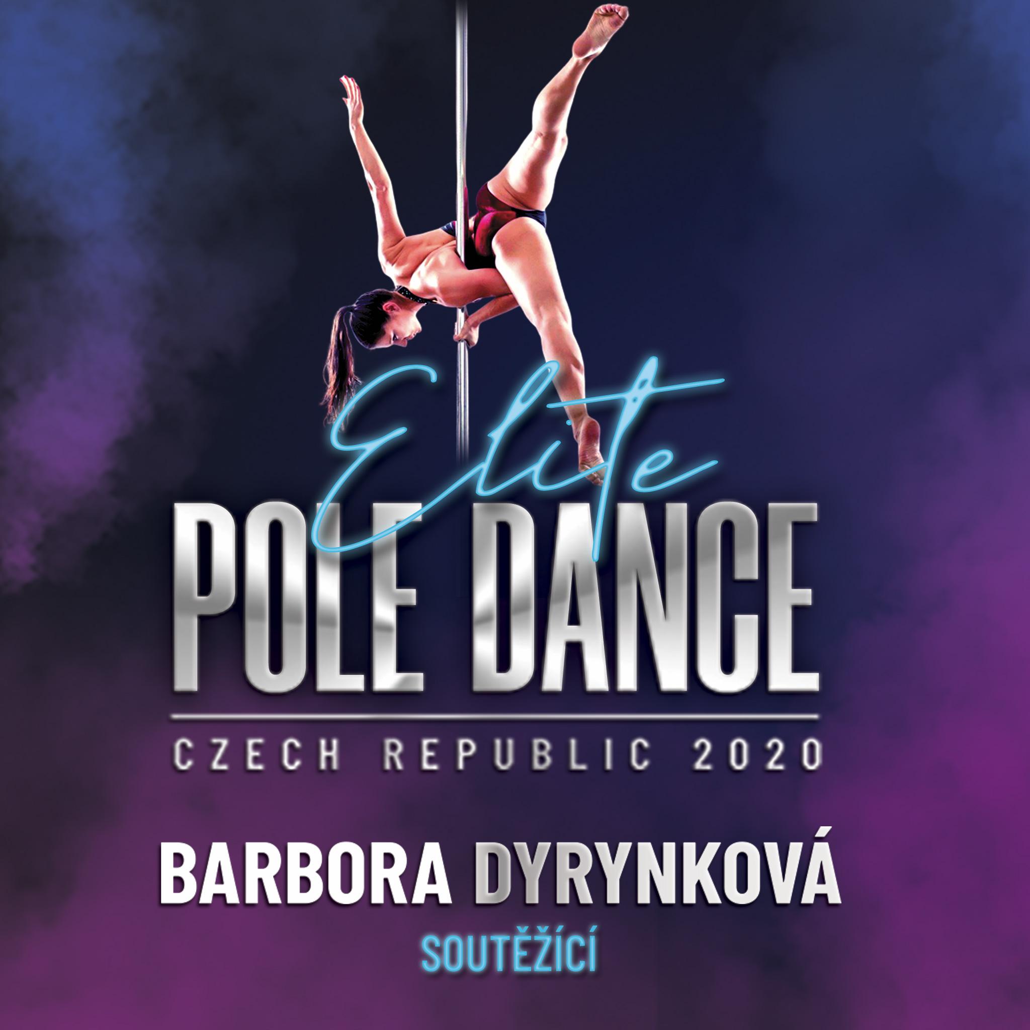Barbora Dyrynková Elite Pole Dance ČR soutěž battle