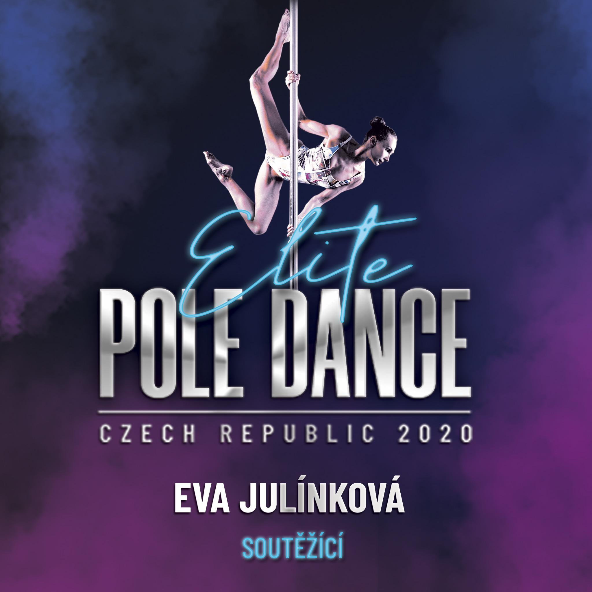 Eva Julínková Elite Pole Dance ČR Český svaz pole dance