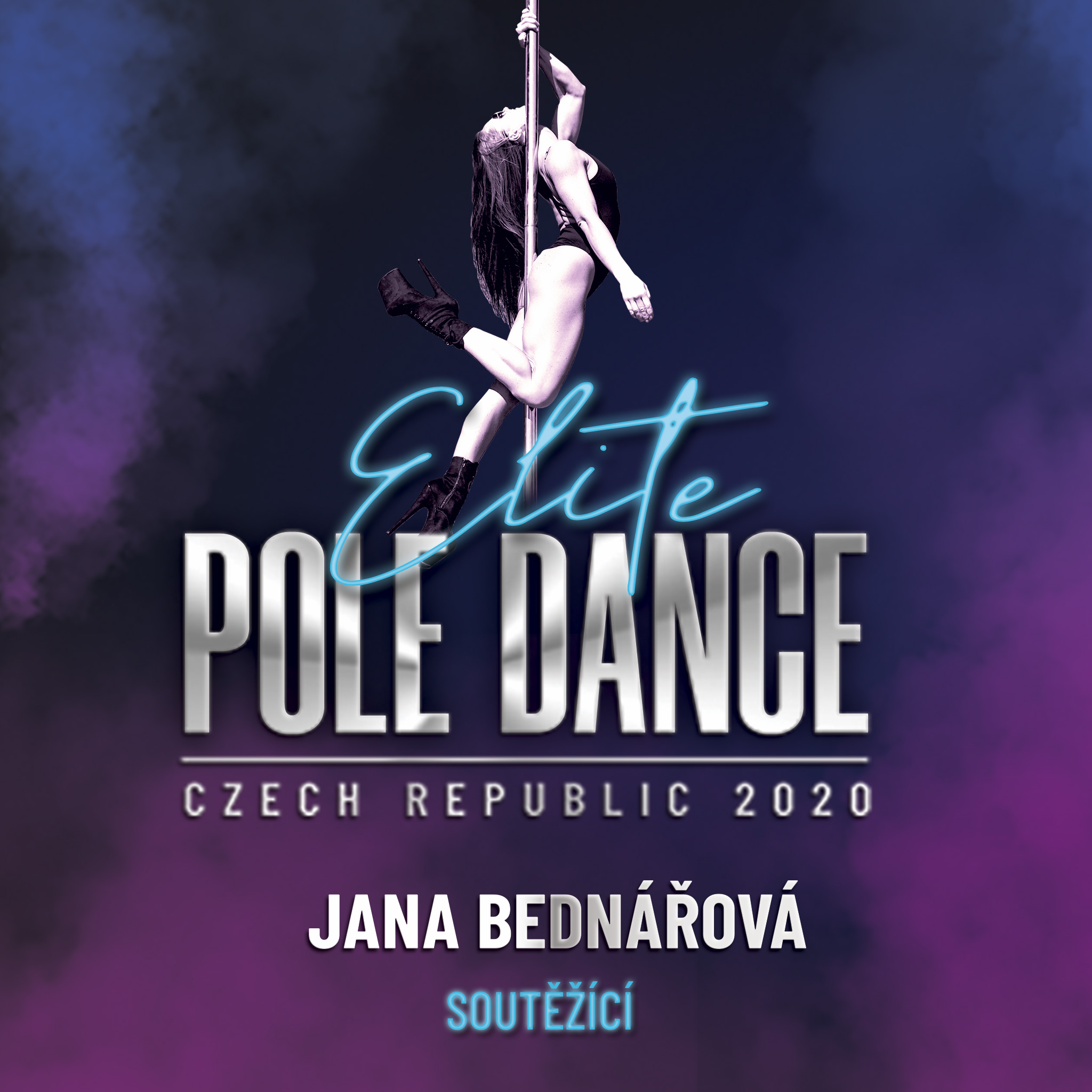 Jana Bednářová Elite Pole Dance ČR Český svaz pole dance