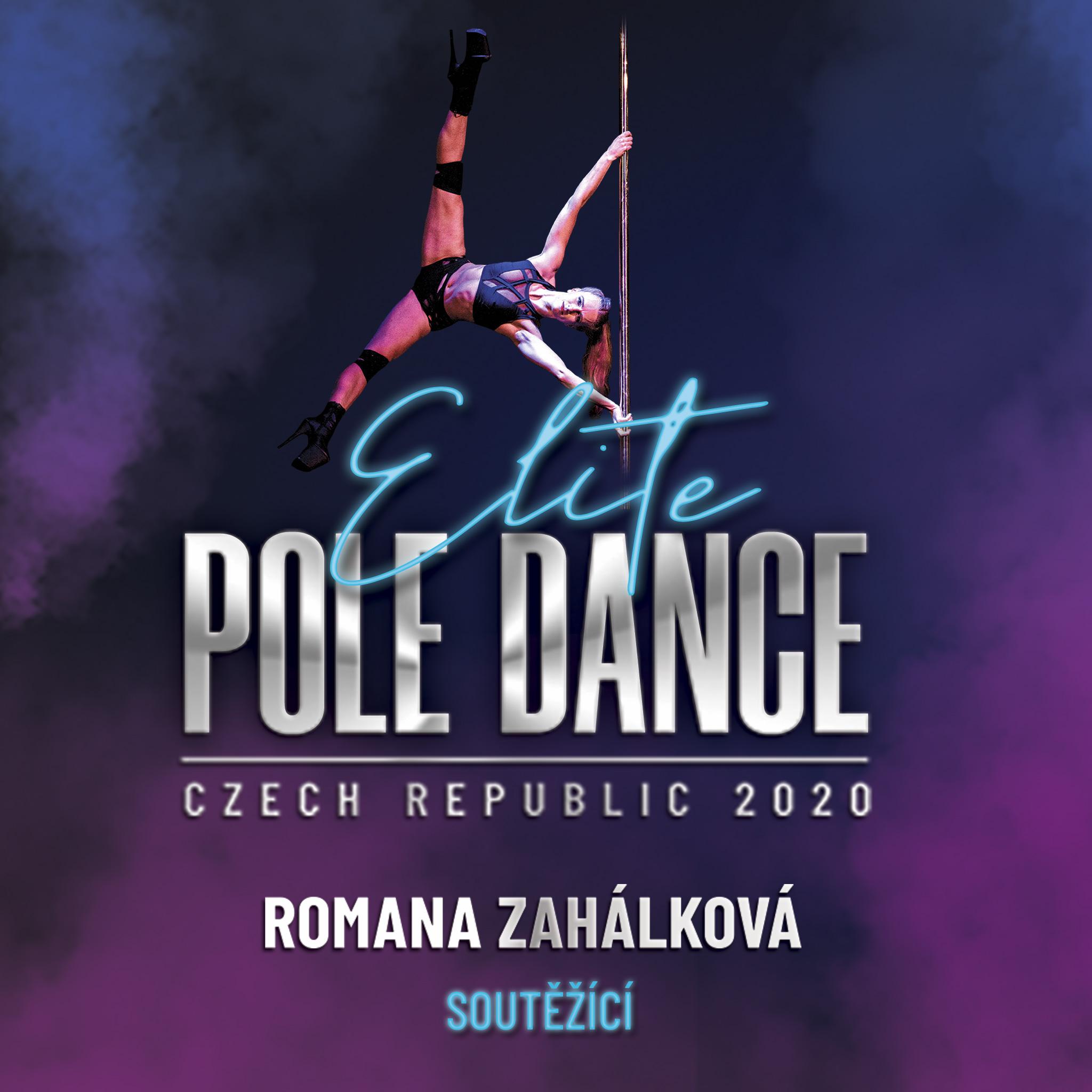 Romana Zahálková Elite Pole Dance ČR soutěž battle