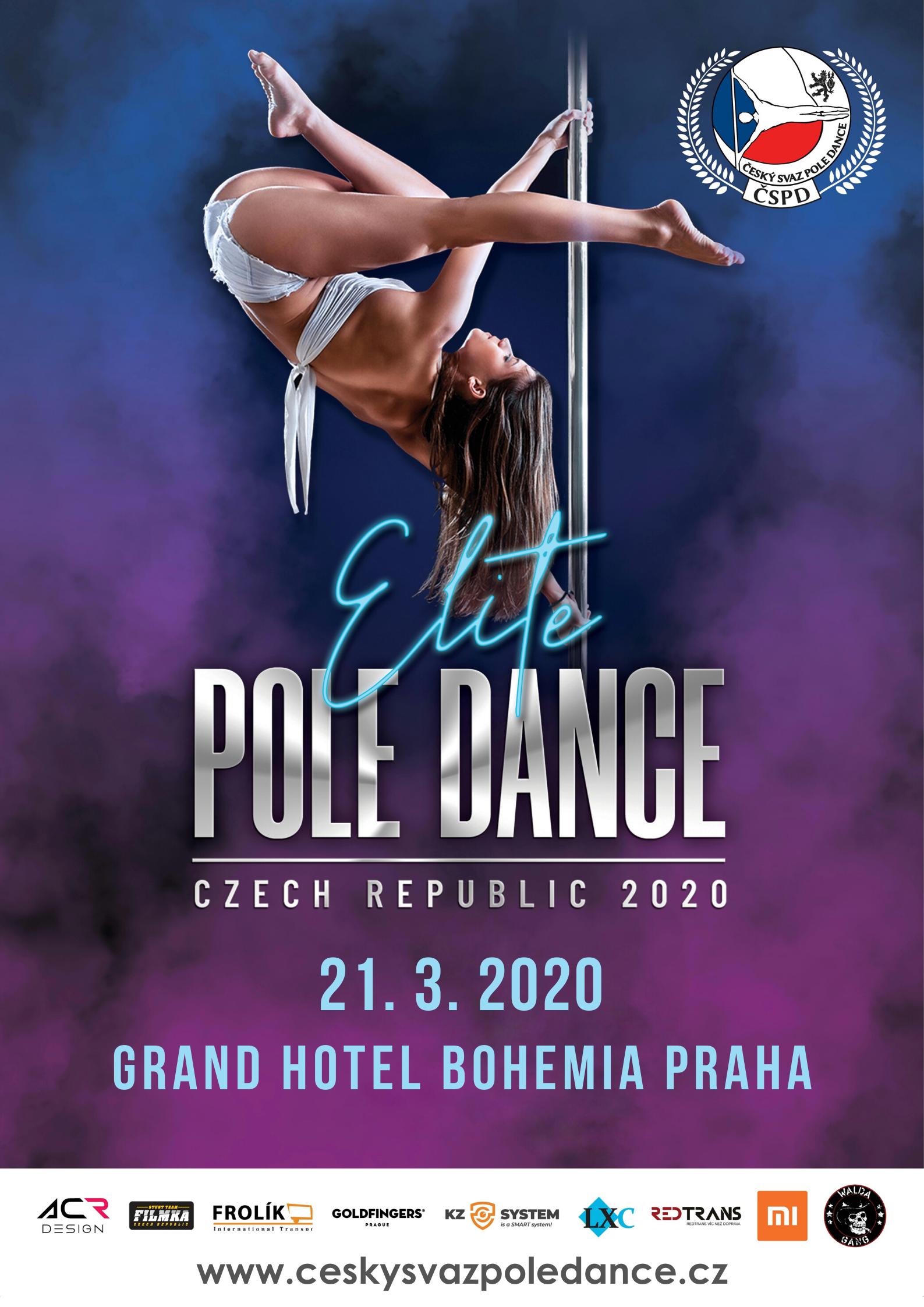 Elite Pole Dance ČR soutěž pole dance česká republika grand hotel bohemia praha pole sport pole art battle