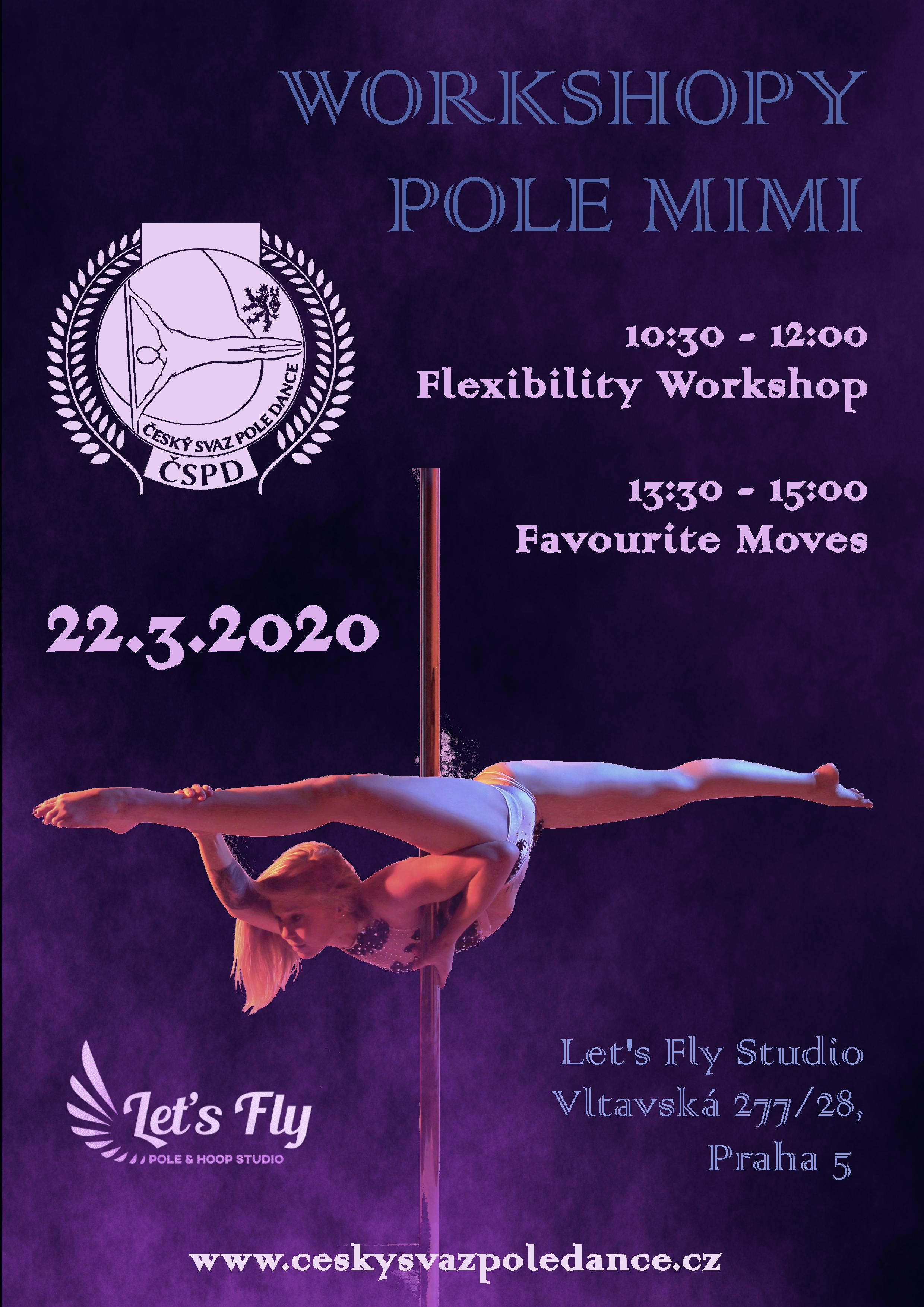 Workshopy Pole Mimi Carolin Schmitt