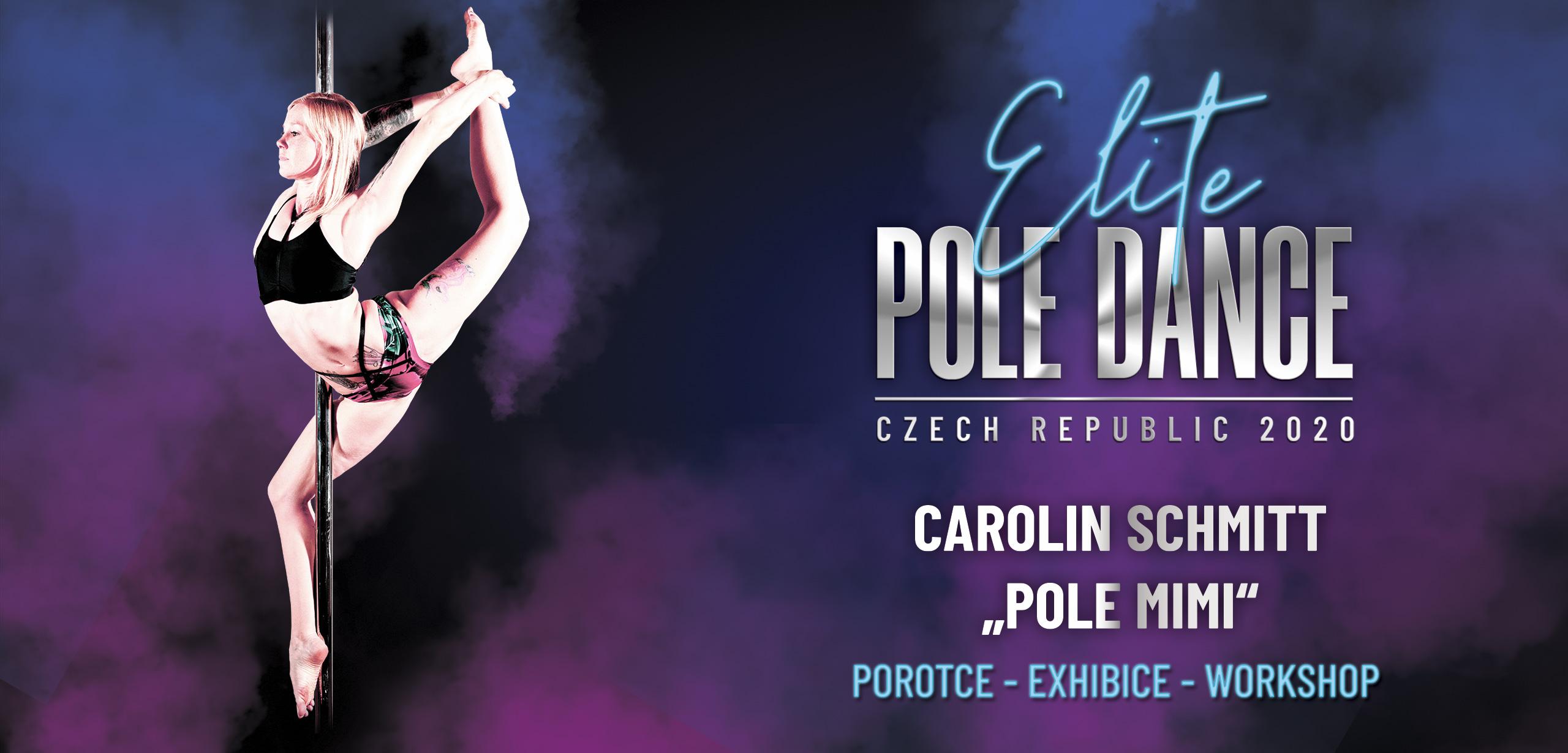 Elite Pole dance čr česká republika porota pole mimi carolin schmitt
